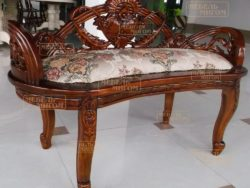 Кушетка Rose Bench Pecan 2489-NM